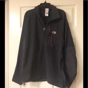 The north face men's pullover shirt size medium